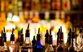 Картинка коктейль, cocktail, drinks, bottles, alkohol, бутылки, алкоголь, напитки