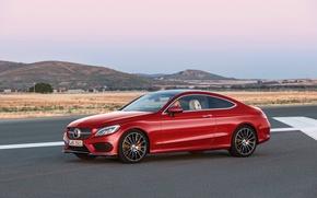 Картинка 2015, Mercedes-Benz, Coupe, C-class, AMG, мерседес, 4MATIC, C205