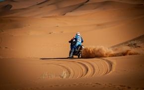 Обои мотоцикл, гонка, спорт