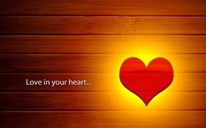 Картинка любовь, сердце, текстура, деревянный, love, сердечко, heart