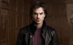Обои Damon, ian somerhalder, The Vampire Diaries, Дневники вампира