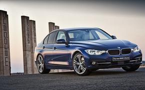 Картинка бмв, BMW, седан, F30, 2015, 3-Series