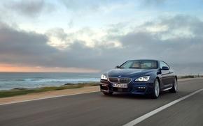 Картинка BMW, Побережье, Coupe, Package, Передок, 650i, M Sport