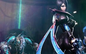 Обои scarlet blade, девушка, меха, оружие