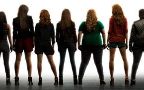 Картинка музыка, постер, комедия, Brittany Snow, Hailee Steinfeld, Anna Kendrick, Anna Camp, Pitch Perfect-2, Идеальный голос-2, ...