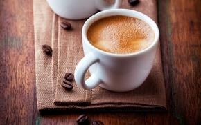 Картинка cup, coffee, coffee beans