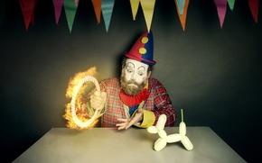Картинка игрушка, человек, клоун