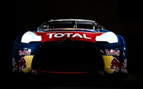 Картинка 2012, citroen, red bull, ds3, ралли-кросс, total, S.Loeb, С.Лёб, rallycross