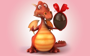 Картинка дракон, dragon, funny