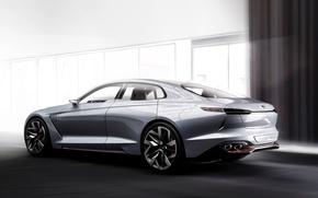 Обои концепт, Genesis, Concept, генезис, Hyundai, хундай