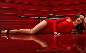 Картинка Asian, American, babe, actress, Maggie Q