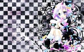 Картинка soul eater, пожиратель душ, шахматка, Ryo Hiiragi, хрона, crona