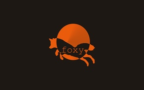 Картинка солнце, лапки, лис, хвостик, лисица, векторная графика, foxy
