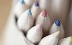 Картинка цвет, карандаши, pencil
