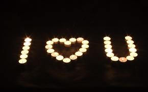 Картинка свечи, признание, в любви