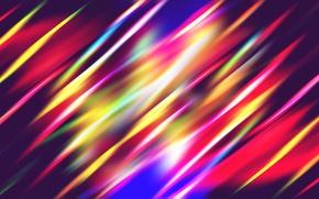 Картинка лучи, свет, линии, полосы, обои, блик