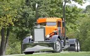 Картинка custom, truck, big rig, peterbilt