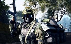 Обои оружие, солдат, экипировка, Battlefield 4