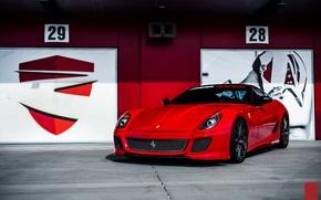 Картинка Ferrari, суперкар, феррари, GTB, 599