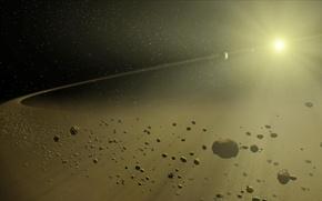 Обои space, Nasa, астероиды