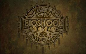 Картинка логотип, rapture, bioshock