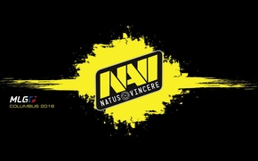 Картинка logo, na'vi, counter-strike, black background, csgo, нави, navi, natus vincere, cs go, spot, mlg, columbus