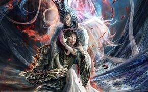 Картинка кровь, воин, ведьма