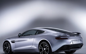 Обои aston martin, vanquish, centenary edition, car, supercar, wallpapers