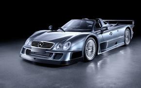 Картинка Roadster, Mercedes-Benz, 2006, GTR, суперкар, родстер, мерседес, AMG, CLK, амг, Road Version, RHD