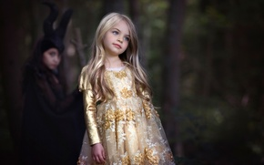 Картинка девочка, Aurora, Maleficent, по мотивам фильма