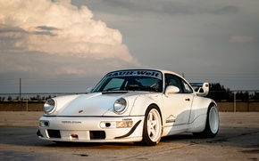 Картинка Porsche, 964, Turbo, Track, RWB, Function, ADV5