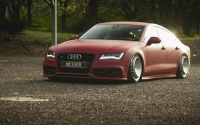 Картинка дорога, машина, Audi, мощь, автомобиль, диски