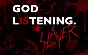 Картинка metal, blood, band, slayer, god, thrash