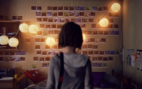 Обои Фото, Комната, Девушка, Игра, Life is Strange, Свет