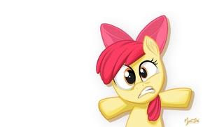 Картинка пони, My little pony, Apple Bloom, MysticAlpha