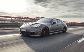 Картинка Porsche, Panamera, 2014, Prior600 WB