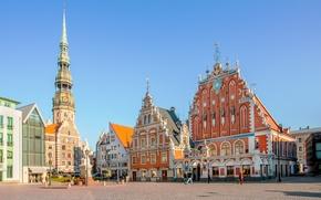 Картинка Old Town, Riga, Latvia