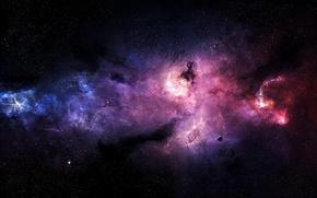 Картинка звезды, туманность, планета, Stefan Veselinov, Pyres Of Atonement