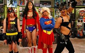 Обои The Big Bang Theory, Сериал, Теория большого взрыва