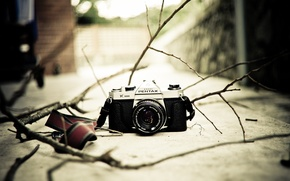 Картинка фон, камера, Pentax K1000
