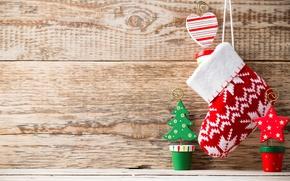 Картинка украшения, Новый Год, Рождество, Christmas, wood, decoration, Merry