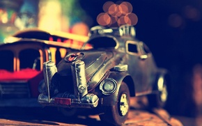 Картинка модель, Игрушка, полка, машинка, старый.