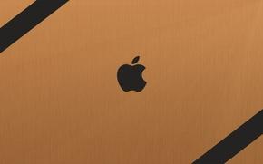 Обои apple, яблоко, mac, hi-tech