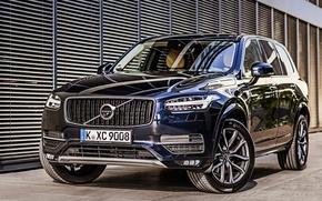Обои XC90, вольво, Volvo, 2015, Momentum