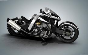 Картинка мотоцикл, байк, чоппер