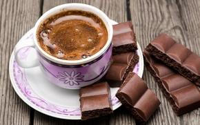 Картинка кофе, шоколад, чашка, cup, chocolate, beans, coffee