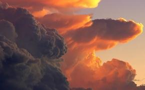 Картинка небо, облака