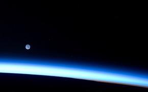 Картинка light, blue, planet, atmosphere