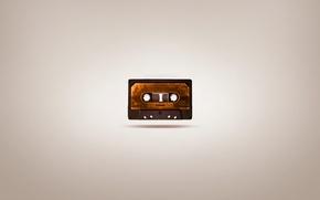 Картинка рисунок, минимализм, minimalism, кассета, picture