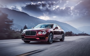 Обои Bentley, Flying Spur, бентли, флаинг спур